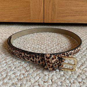 TALBOTS - Calf-Hair Belt - NEW without Tags